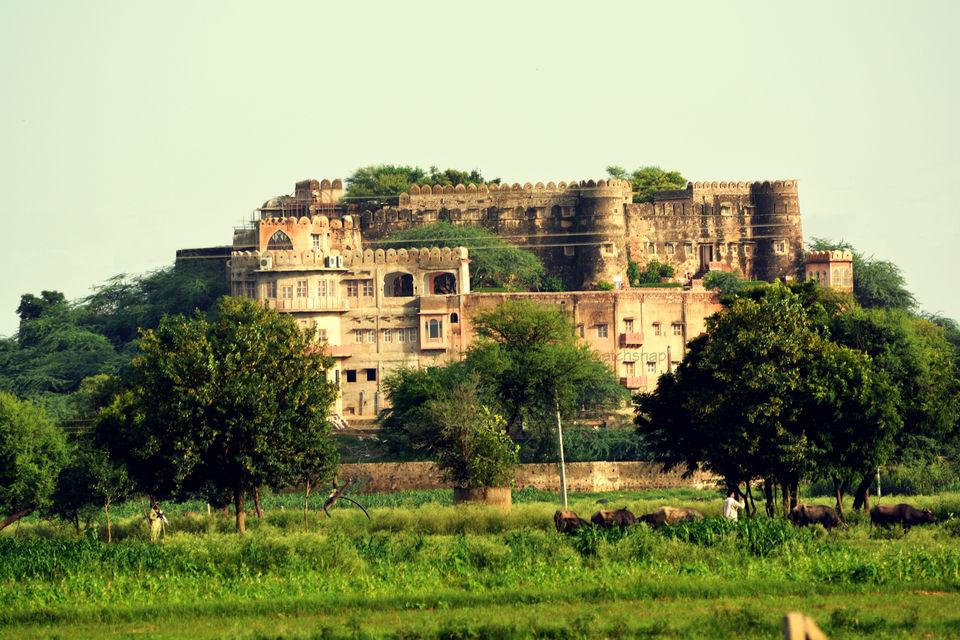 Photos of Neemrana Hill fort Kesroli: A break from urban style living. 1/1 by Sonam Singh