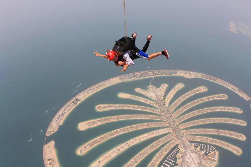 Photos of Skydive Dubai:The Sky through my eyes! Above and Beyond 1/1 by Mn_says