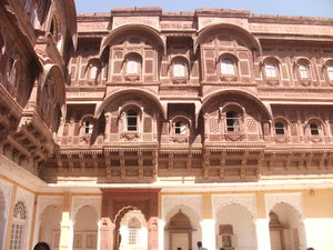 Pink, Blue, Brown, White city - Colorful Rajasthan