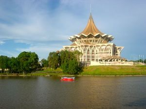 Kuching, Borneo - The 'Cat City'
