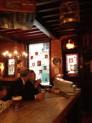 Clinking Glasses: Having Beer In Brussels, Belgium