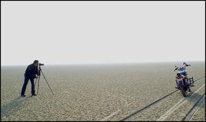 Ride to the Dry Sea - Sambhar Lake