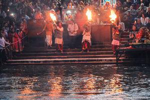 Witnessing The Ganga Arti in Haridwar