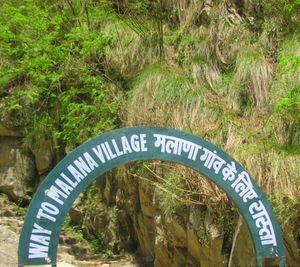Walking to a different world: Malana Village