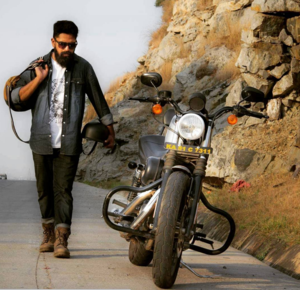 At 22, This Biker Got 85 People And 6 Brands To Fund His Travel Across India