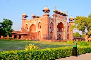 An unplanned trip to Taj Mahal