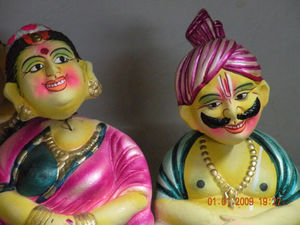 Kondapalli Toys. World famous for intricate and exquisite handicrafts.