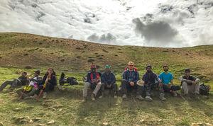 I am high at Mt Kanamo with Indiahikes