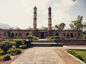Champaner on a two-wheeler