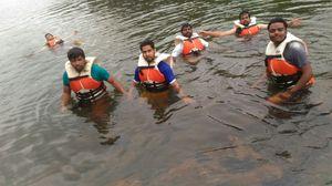 Still water Rafting at Dubare