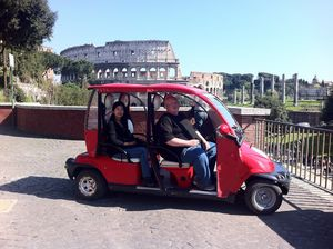 Rome by Golf Cart: Guided Customisable Tour