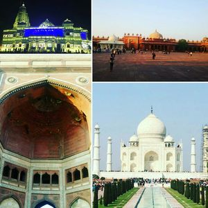 7 AM to 7 AM a one day trail coverin Agra – Fatehpur Sikri – Vrindavan
