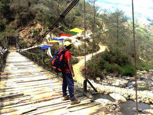 Last Descent from Sandakphu to Sepi (Sandakphu Trek)