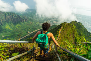 The Stairway To Heaven - Hawaii