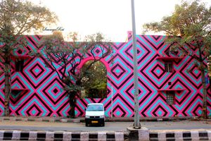 Exploring the Art on Streets of Lodhi Colony