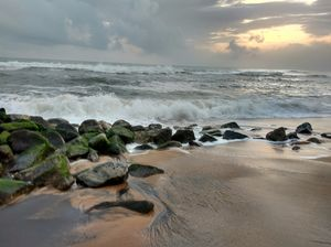 Varkala: Vivacious yet serene, a piece of Postcard from Malabar Coast.