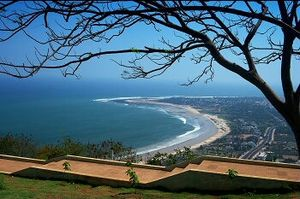 Where the sea flows in the heart of the city : Vishakhapatnam
