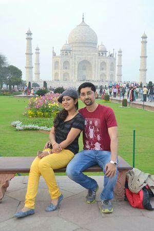 Symbol of Love- Taj Mahal