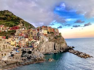 Perils and splendors of the North-Italian Coastline
