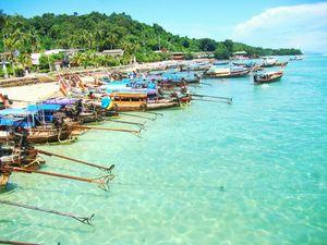 Beach bums in Phuket and Pattaya