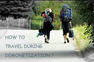 How to Travel During Demonetization?