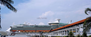 The city that Sails: Mariner of the Sea ,Royal Caribbean Cruise from Singapore