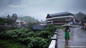 Enchanting Monsoon moods in Kerala , India