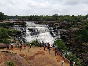 Falling High: Tale of Two Beautiful Waterfalls in Varanasi : RAJDARI & DEVDARI