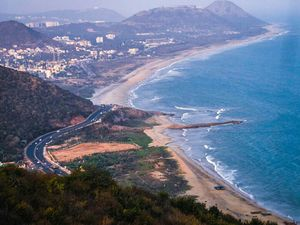Vizag a land of Blue waves and Green mountains