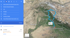 Ladakh trip hacked @ less than INR 1500 per day**