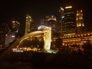 The Land of the Merlion - Singapore...