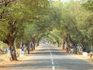 The cultural town Theni, Tamilnadu