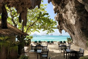 Headed To Thailand? Don't Miss Dining In This 100-Year-Old Cave By The Seaside