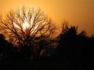 Shirdi 2- The sunset at Sakori