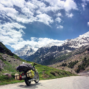 Riding Solo to The Himalayas