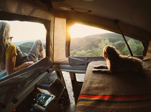 This Girl's 6 Year Long Roadtrip With Her Dog  Made Her An Instagram Queen
