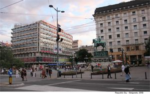 Belgrade – Intriguing and Moving