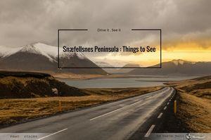 Snaefellsnes Peninsula : Things To See
