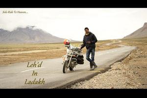 Leh'd in Ladakh - Solo Ride to Heaven