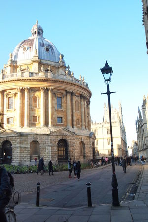 A map, a weekend & 25 km by foot-exploring Oxford