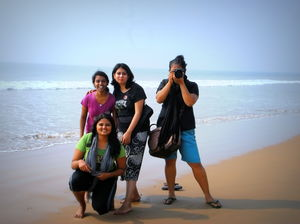 All girls trip to Puri
