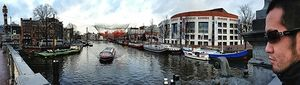 Exploring the bylanes of Amsterdam