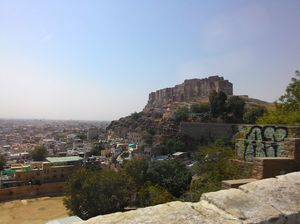 Rendezvous with Rajasthan - A Lone Backpacker's Diary (Part 2 - The Blue City, Jodhpur)