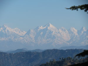 Weekend trip to Ramgarh ..Garhwal range  Himalaya