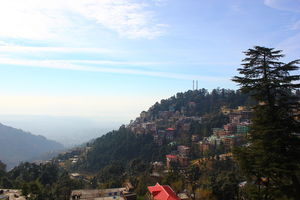 On foot in McLeod Ganj