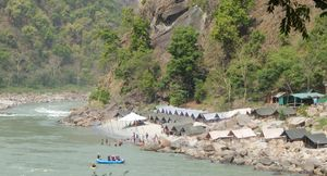 Rishikesh - Silver sands of Holy Ganges