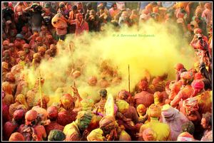 Holi at Nandgaon and Barsana