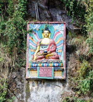 Sikkim- Greens, White & Gravel Beauty