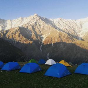 Triund Trek- In the mist of Dhauladhar range